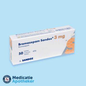 Bromazepam-3-mg-50-Tabletten-Medicatie-Apotheker-online-kopen