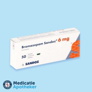 Bromazepam-6-mg-50-Tabletten-Medicatie-Apotheker-online-kopen