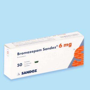 Bromazepam-6-mg-50-Tabletten-Medicatie-Apotheker-online-kopen