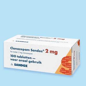 Clonazepam-2mg-100-tabletten-Medicatie-Apotheker-online-kopen