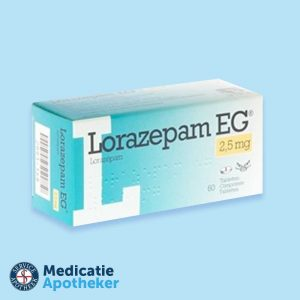 Lorazepam-25mg-30-tabletten-Medicatie-Apotheker-online-kopen
