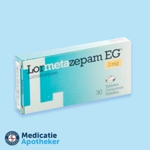 Lormetazepam-2mg-30-tabletten-Medicatie-Apotheker-online-kopen