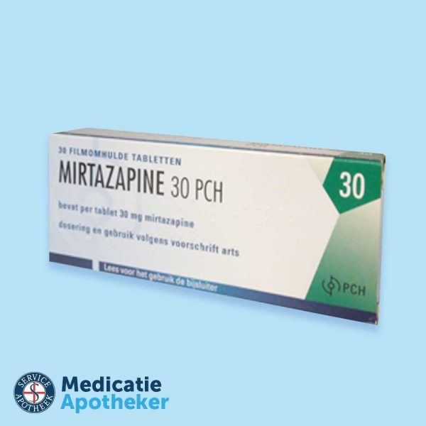 Mirtazapine-30-tabletten-Medicatie-Apotheker-online-kopen