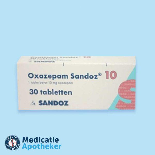 Oxazepam-10-mg-30-tabletten-Medicatie-Apotheker-Online-kopen