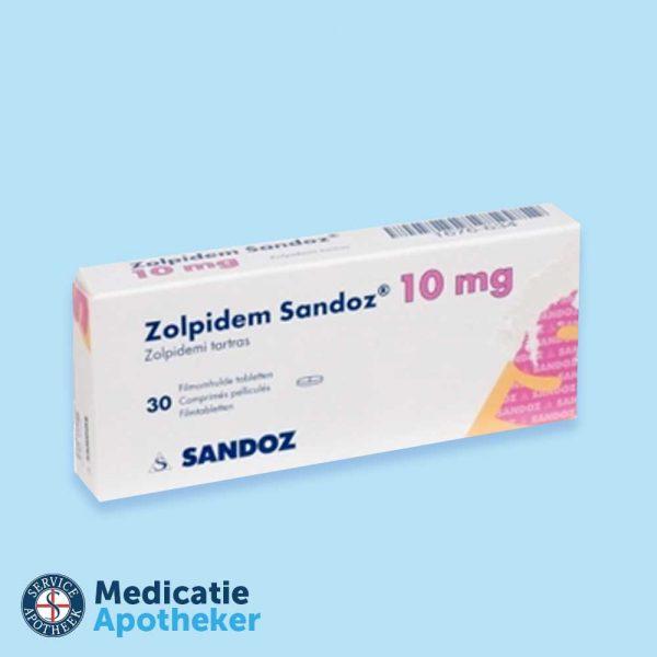 Zolpidem-10mg-30-tabletten-Medicatie-Apotheker-online-kopen