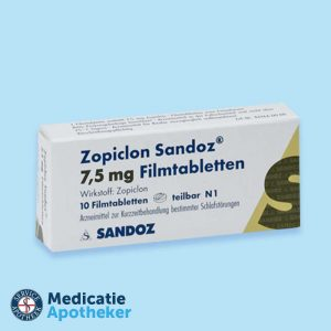Zopiclon-7,5mg-10-tabletten-Medicatie-Apotheker-online-kopen